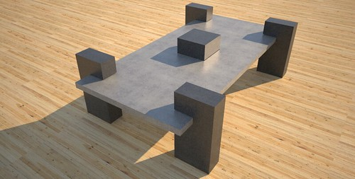High quality concrete patio table, concept design and production by 108.167.189.34