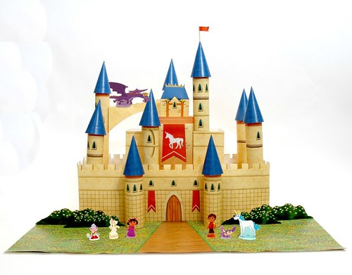dora-enchanted-forest-castle-craft
