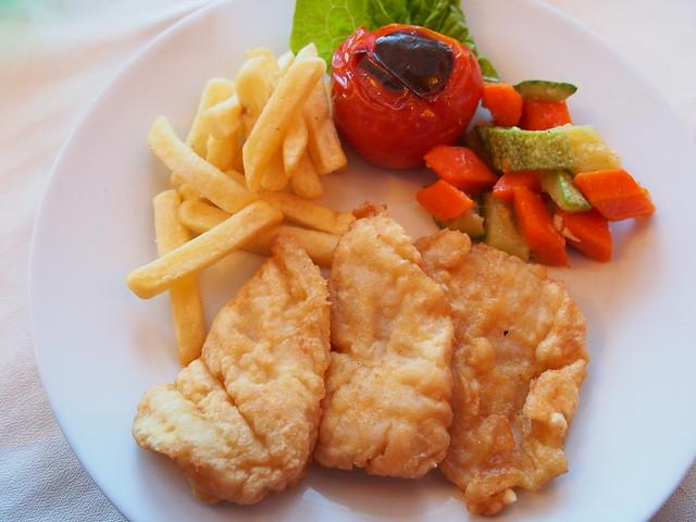 今日晚餐-炸魚排