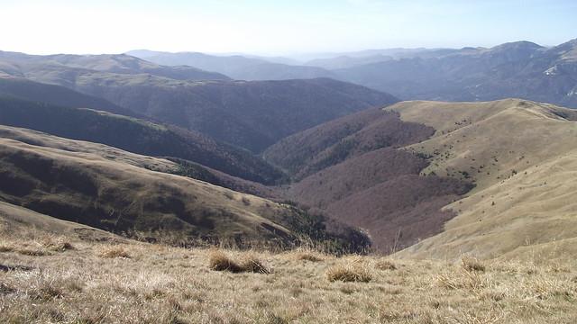 Valea Rea, Muntii Baiului