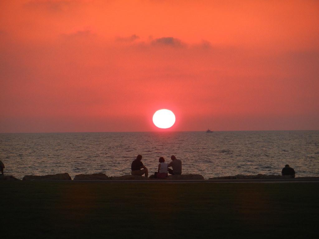 Закат в Яффо-Тель Авиве