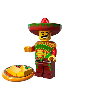 LEGO The Movie 71004 - Collectible Minifigures - Taco Tuesday Guy