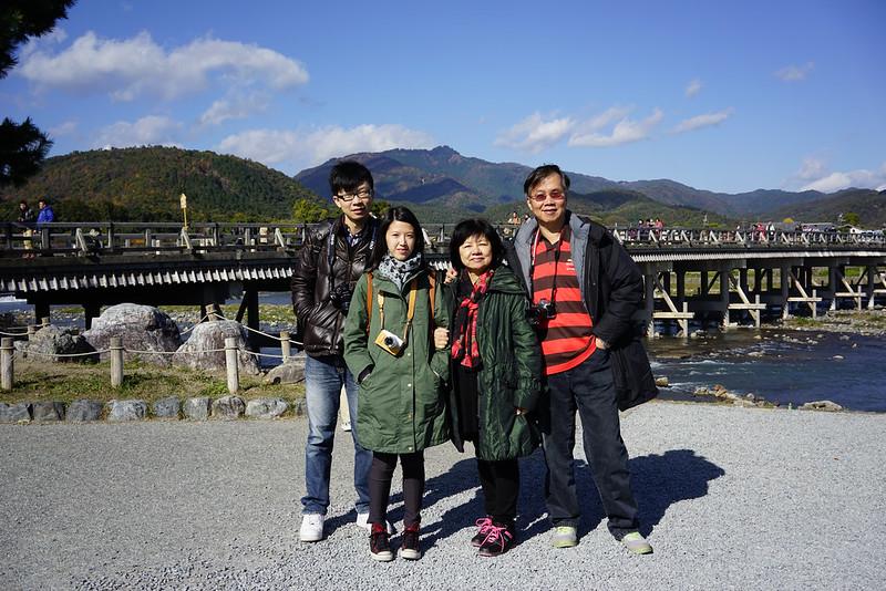渡月橋 | 京都嵐山