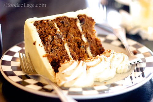 24K Carrot Cake at Cap City Diner (Columbus)
