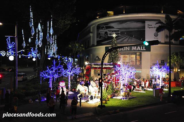 orchard road christmas lights 2013 tanglin mall