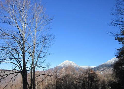 雪をかぶった蓼科山 2013.11.30 by Poran111