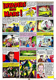 1953 ... 'Invaders From Mars' comic