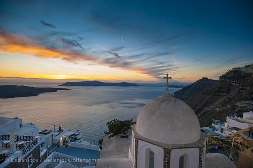 旅行 日落 风光 摄影 色彩 希腊