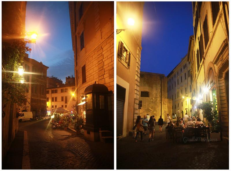 Nightscene Rome