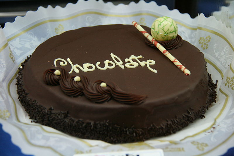 11. Tarta de chocolate. Autor, Tamorlan