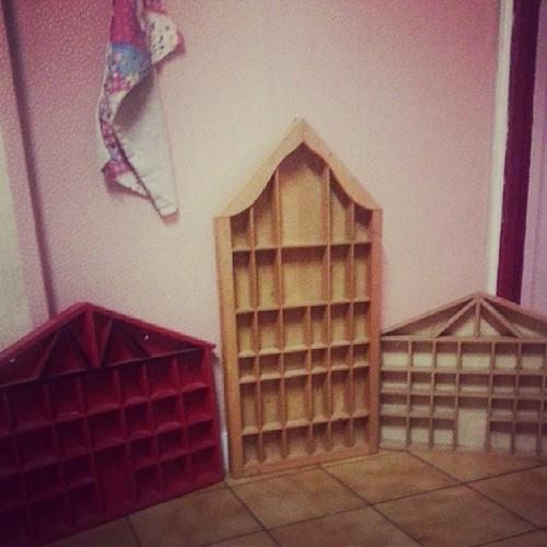 ★ j'ai chiné 3 belles maisons a retapé ★ #videgreniers #maisonette #blog #ourlittlefamily #france
