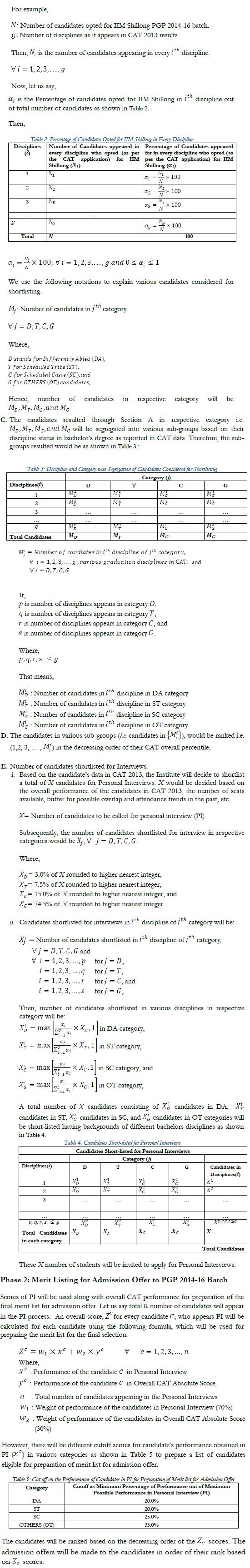 IIM Shillong Admission Criteria 2014   iims  Image