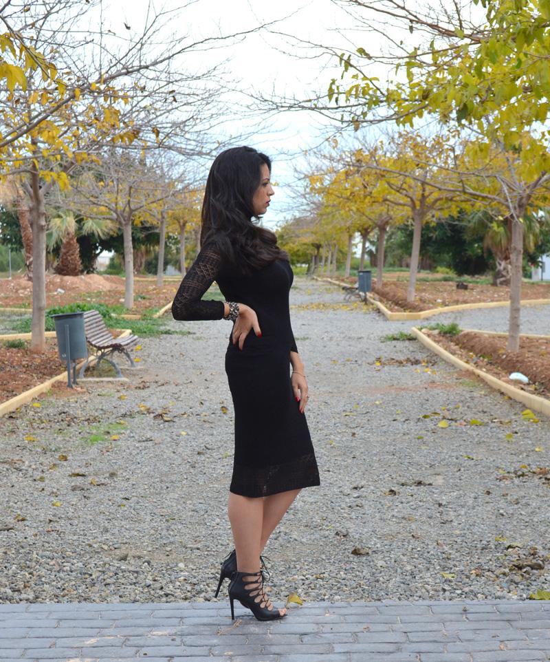 zara knit dress 2013