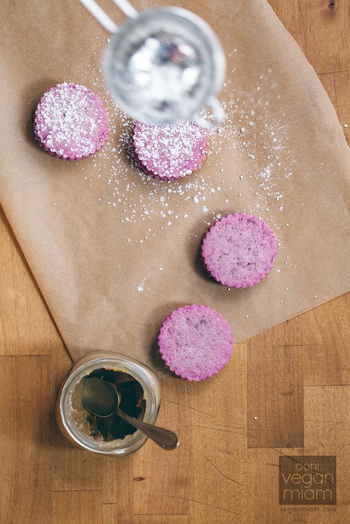Vegan Purple Alfajores
