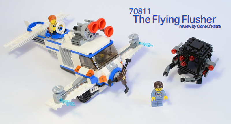 Review 70811 The Flying Flusher Special Lego Themes Eurobricks Forums