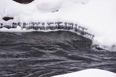 Strange icicles
