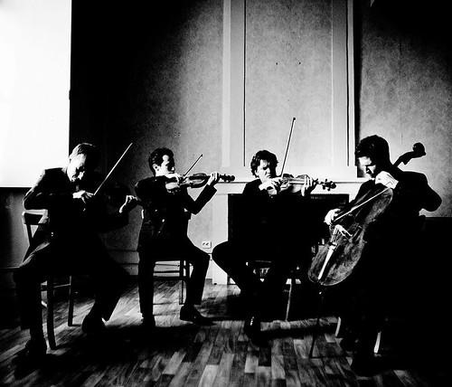 Quatuor Ebène courtesy of QE FB