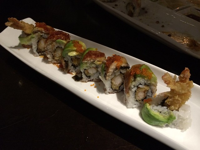 Dragon roll - Wasabi Bistro