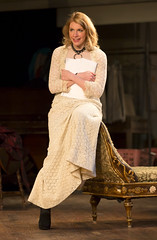 Andrea Syglowski as Vanda in the Huntington Theatre Company's production of VENUS IN FUR. Jan. 3 - Feb. 2, 2014. Photo: T. Charles Erickson