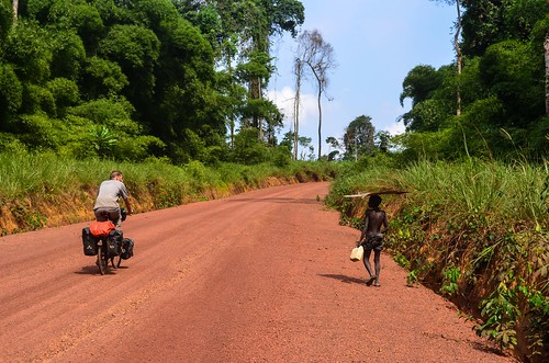 Roads of Lekoumou province, Congo