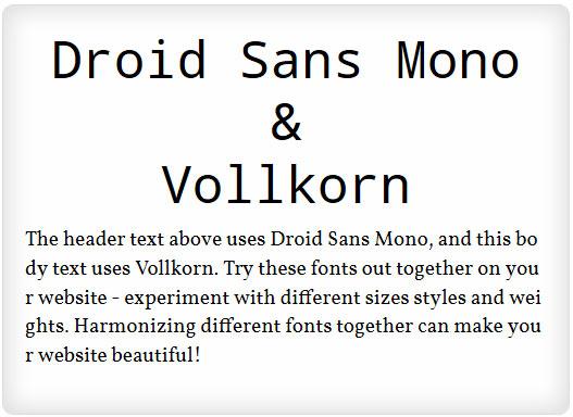 13 Most Popular Google Web Fonts – Best Combinations Ever