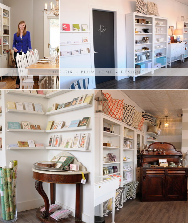 Shop Girl: Plum Home + Design