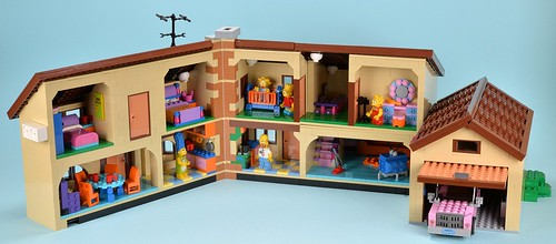 Lego The Simpsons 71006 The Simpsons House Review