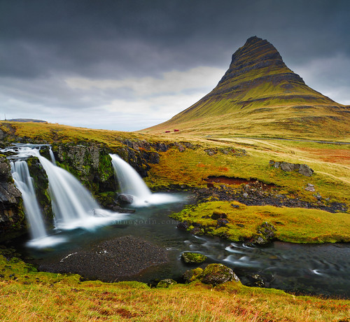 longexposure travel mountain canon landscape waterfall iceland cloudy sigma overcast 7d photomerge kirkjufell snaefellsnes overphotographed snaefellsnespeninsula 1750mm grundarfjordur kirkjufellsfoss whydidigohere