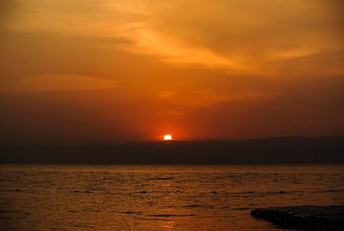 sunset sky water wasser sonnenuntergang himmel jordan kati deadsea jordanien 2014 madaba totemeer nikon1v1