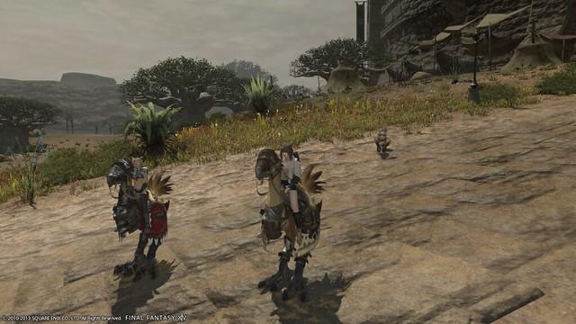 Final Fantasy chocobo mounts