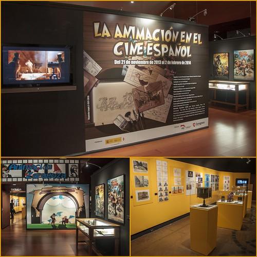 Centro Historias - Exposición Animación en el Cine Español