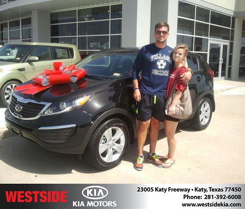 Happy Birthday to Nathan Thackeray from Gil Guzman and everyone at Westside Kia! #BDay by Westside KIA