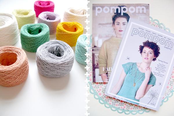 snippets : linen & Pompoms | Emma Lamb