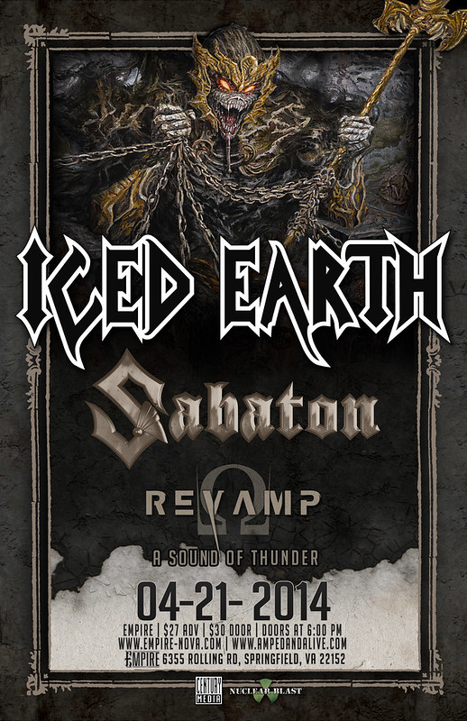 Iced Earth at Empire