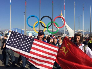 USA-USSR? #sochi2014