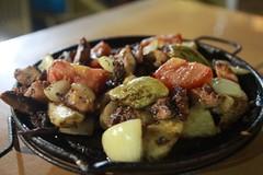 Grilled octopus @ Brasileirinho