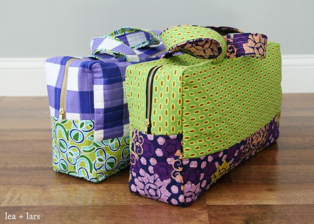duffle bags using Noodleheads free pattern