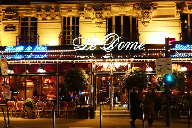 Le Dome Cafe Paris Montparnasse