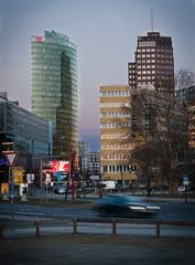 Potsdamer Platz in the evening