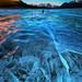 Frozen Lake by CNaene