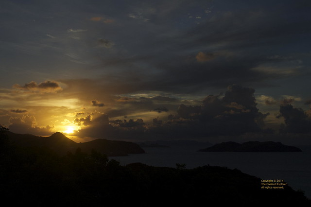 St. Barth Sunset 2011