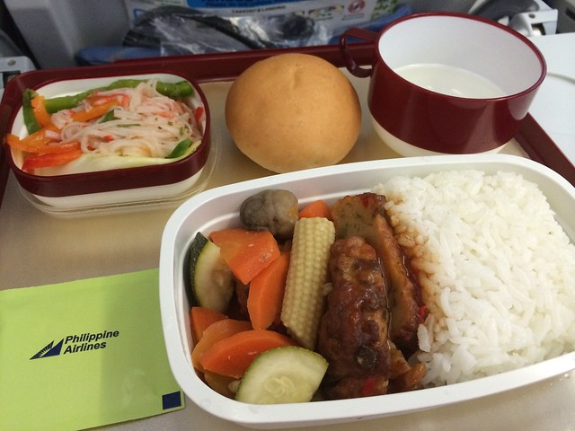 Sweet and sour fish cake - Philippine Airlines