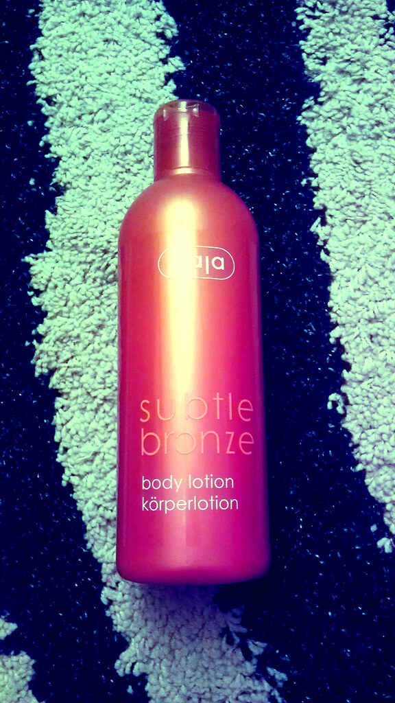 ziaja subtle bronze lotion