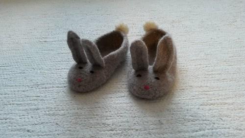 Hopsalots Bunny Slippers