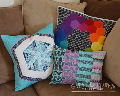All my handmade pillows.