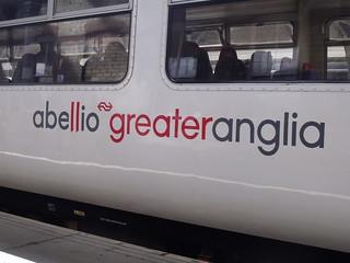 Abellio Greater Anglia logo Class 156