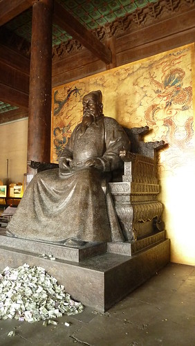 Changling tomb of the Yongle Emperor, Zhu Di