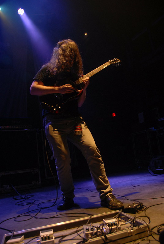 Kevin Hufnagel of Gorguts