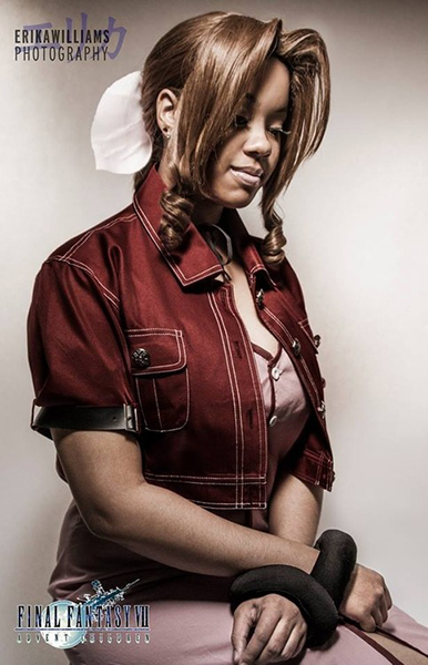 Aerith // Photo by Erika C. Williams, Aerith - Asialockhartcosplay