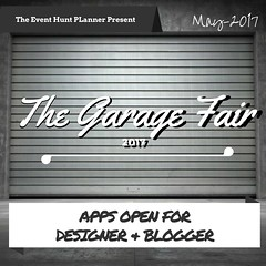 The Garage Fair 2017- App. Designer Close Soon